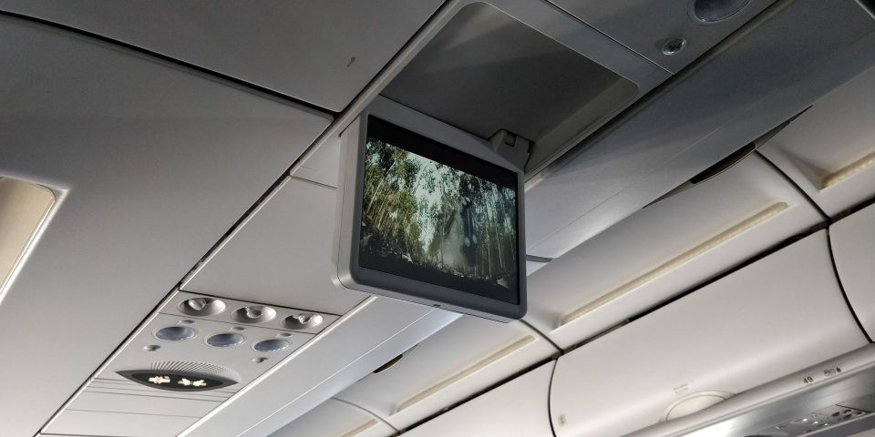 China Southern Airbus A320 Entertainment