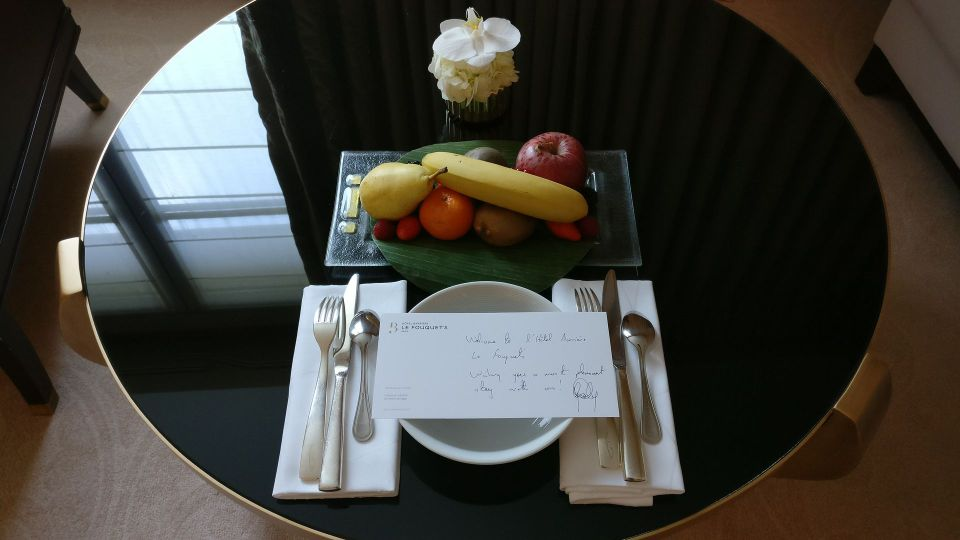 Hotel Barriere Le Fouquet Paris Welcome Gift