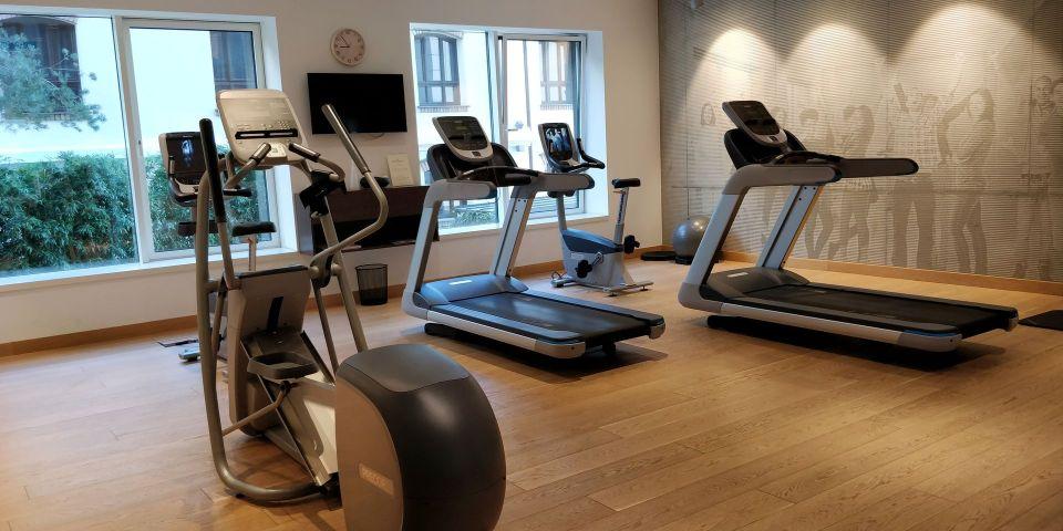 Radisson Collection Hotel Old Mill Belgrade Gym