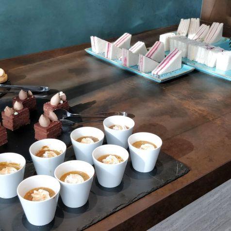Hilton Belgrade Executive Lounge Afternoon Tea