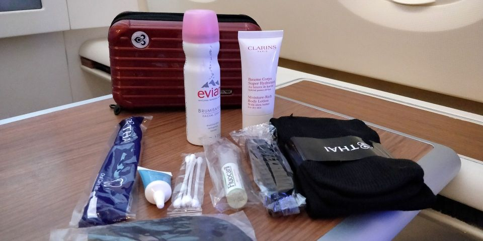 Thai Airways First Class Airbus A380 Amenity Kit
