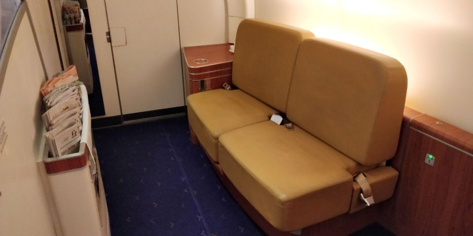 Thai Airways First Class Airbus A380 Lounge