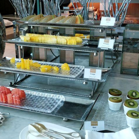 Conrad Tokio Breakfast