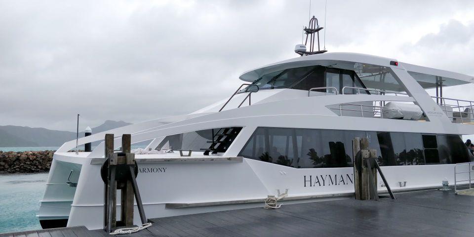 InterContinental Hayman Island Resort Yacht