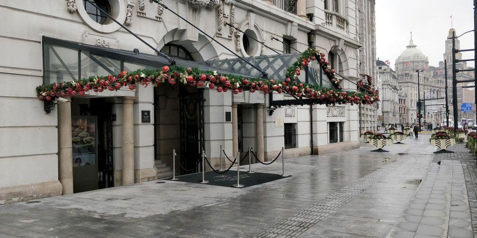 Waldorf Astoria Shanghai Entrance
