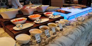 Waldorf Astoria Shanghai Breakfast