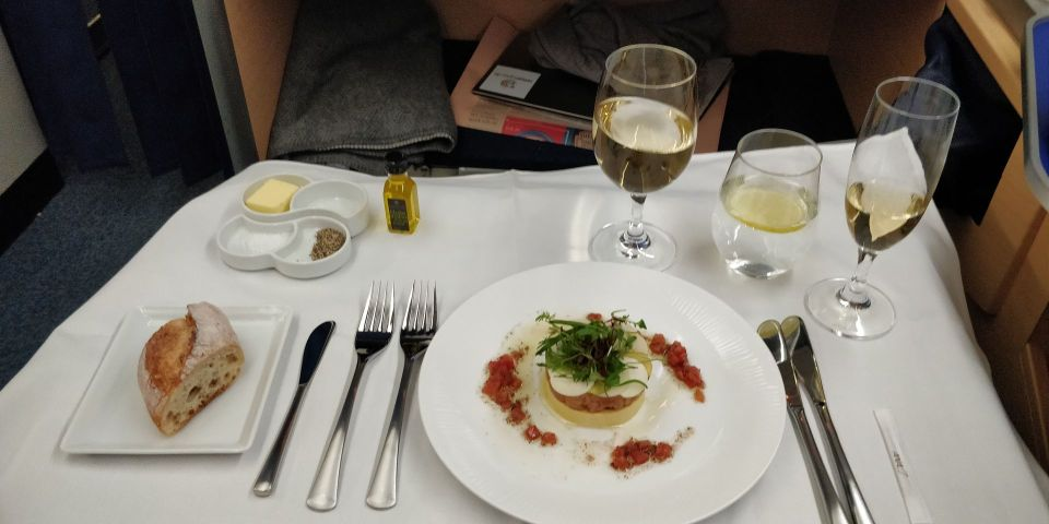 ANA First Class Lunch