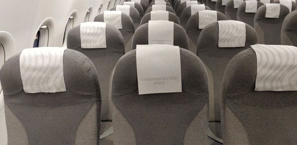Finnair regional Business Class Seat