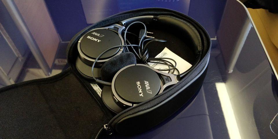 ANA First Class Headphones