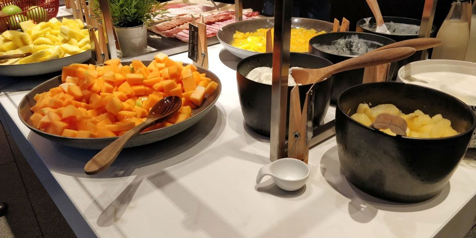 Radisson Blu Frankfurt Breakfast