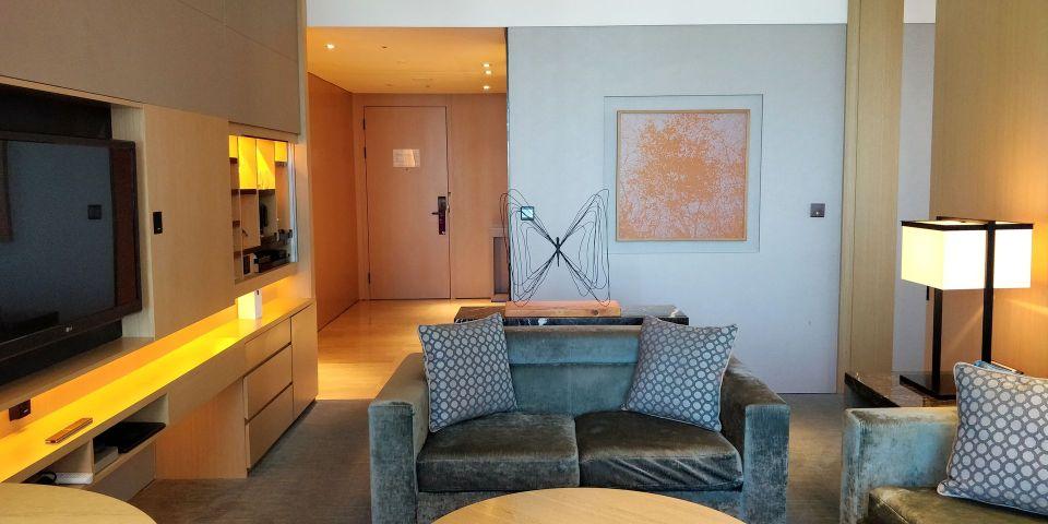 Conrad Seoul Suite Living Room