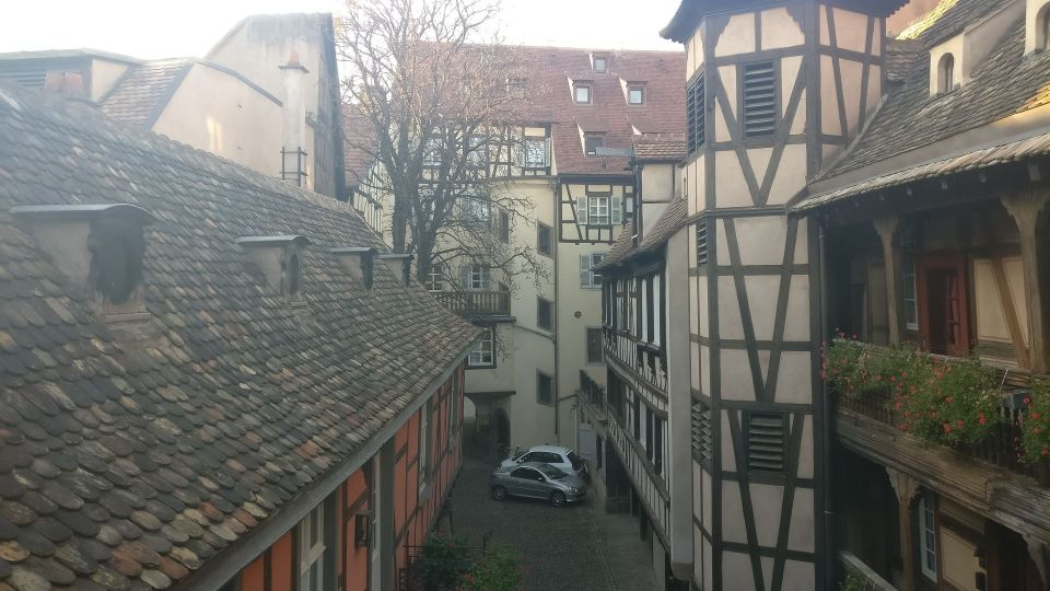 Cour du Corbeau Strasbourg Deluxe Room View