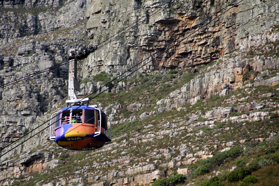 Cableway Table Mountain Cape Town