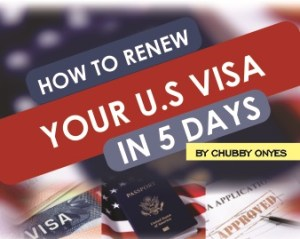 How to Renew a US Visa in Nigeria / Dropbox Locations in Nigeria