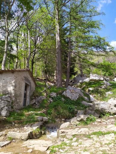 Sopra il rifugio Terz'Alpe