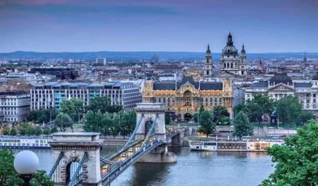 budapest google map
