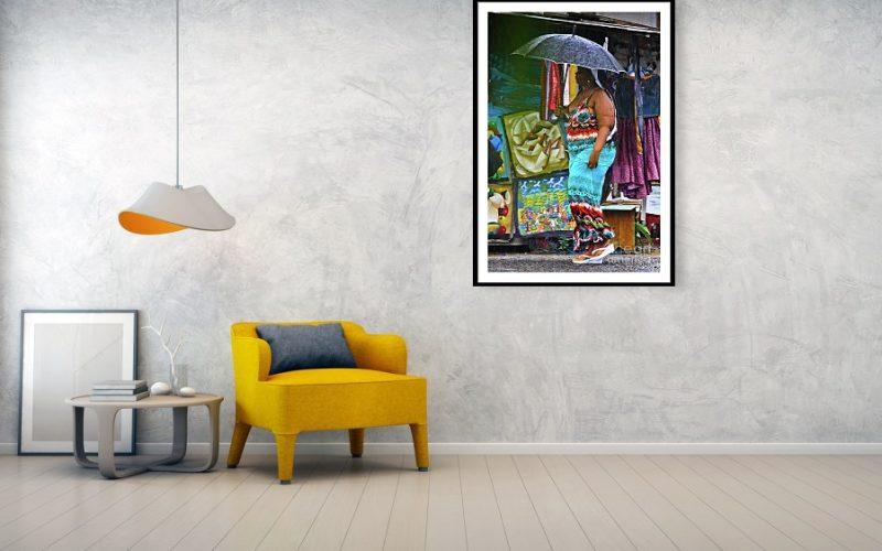 Caribbean art lover wall decor
