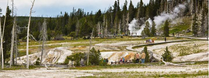 yellowstone national park attractions