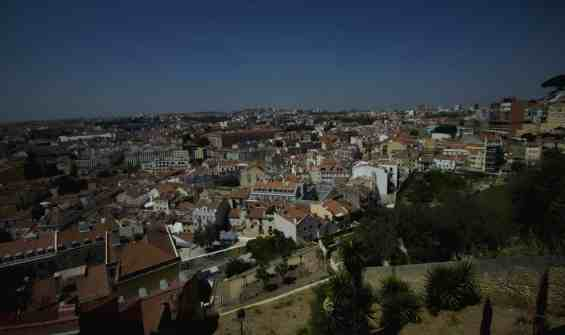 Views of Lisbon town
