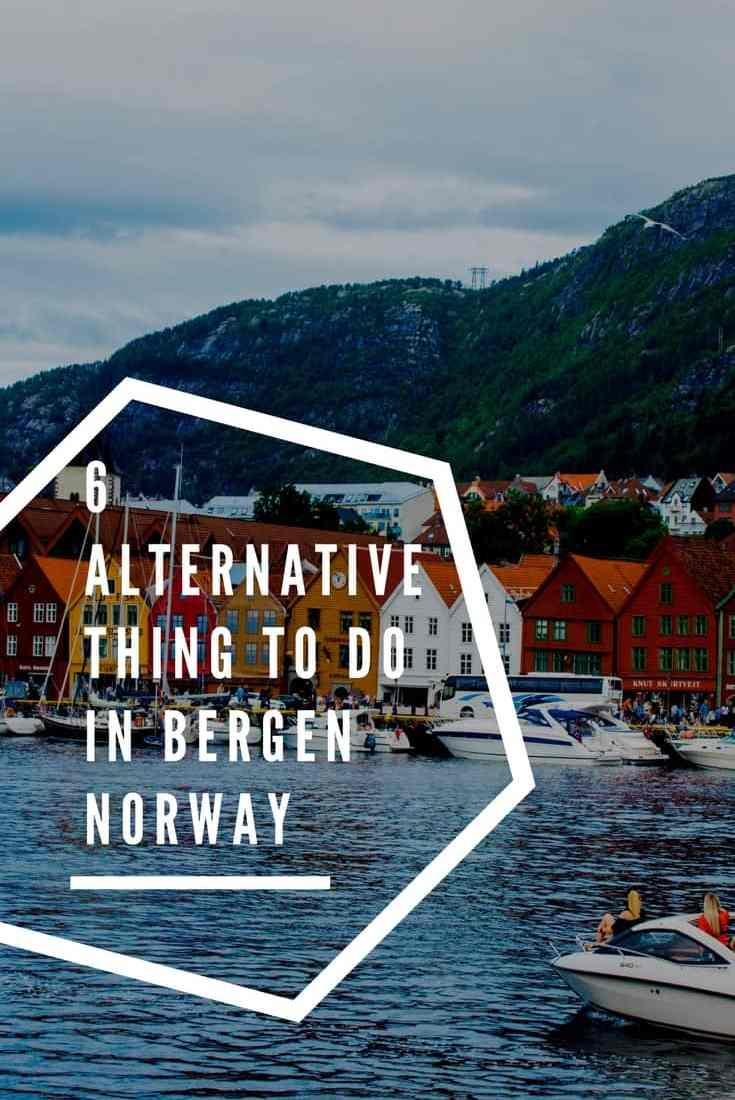 6 Alternative things to do in Bergen Norway