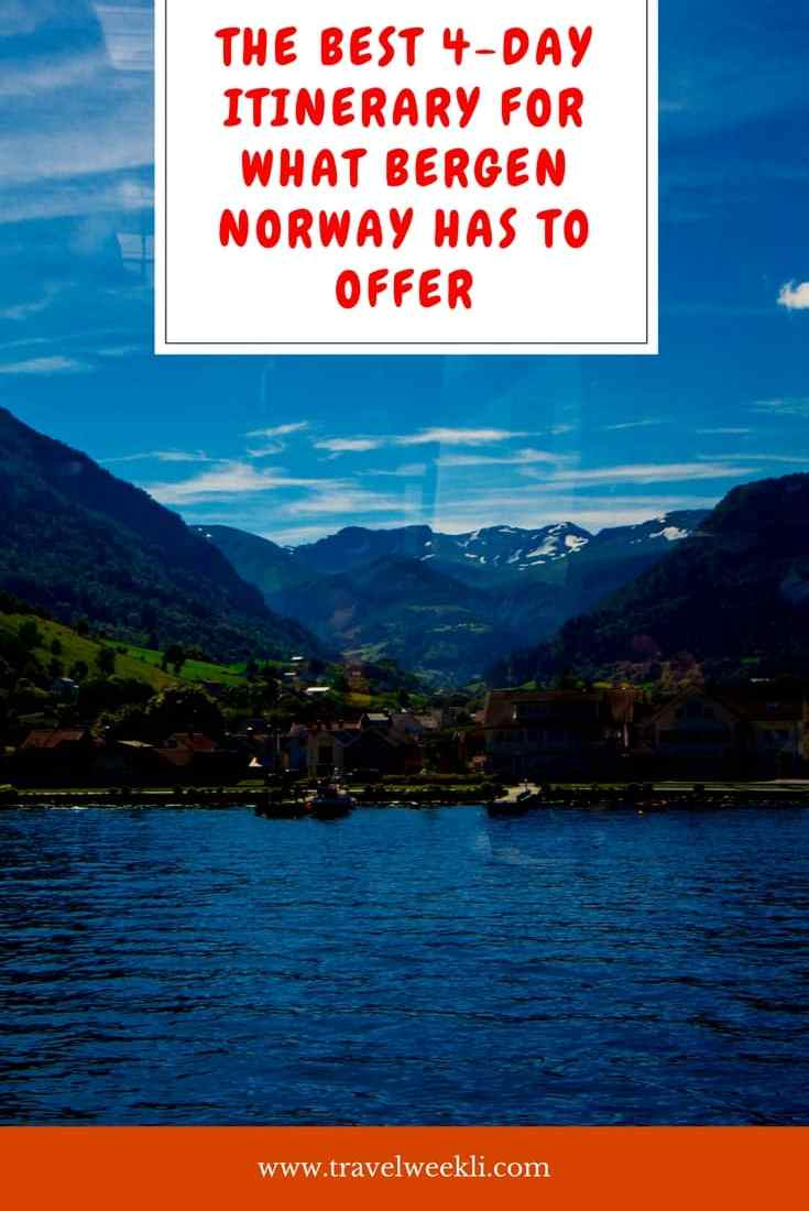 The Best 4-Day Itinerary For What Bergen Norway Has To Offer