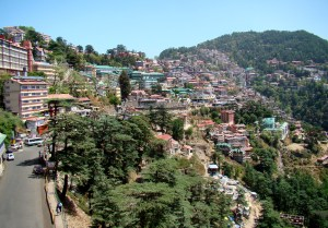 Shimla_Southern_Side_of_Ridge