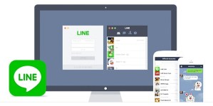 Download the Line Messaging App
