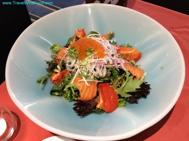 salmon-roe-salad-ks-restaurant