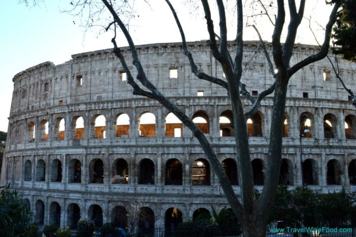 Travel to Italy to see the Colosseum