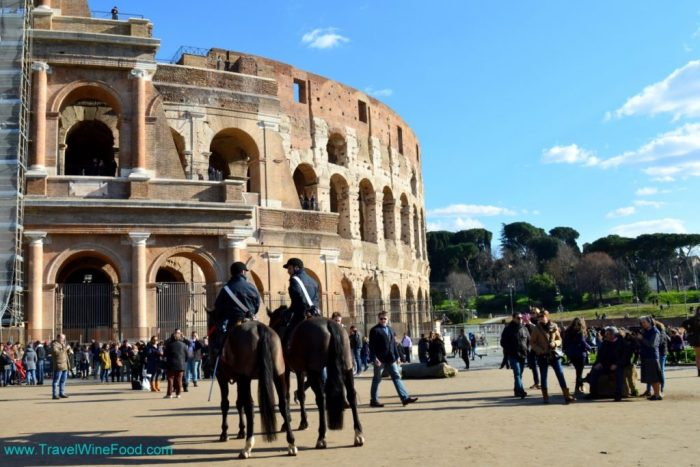 The Colosseum in Rome, Italy, Europe