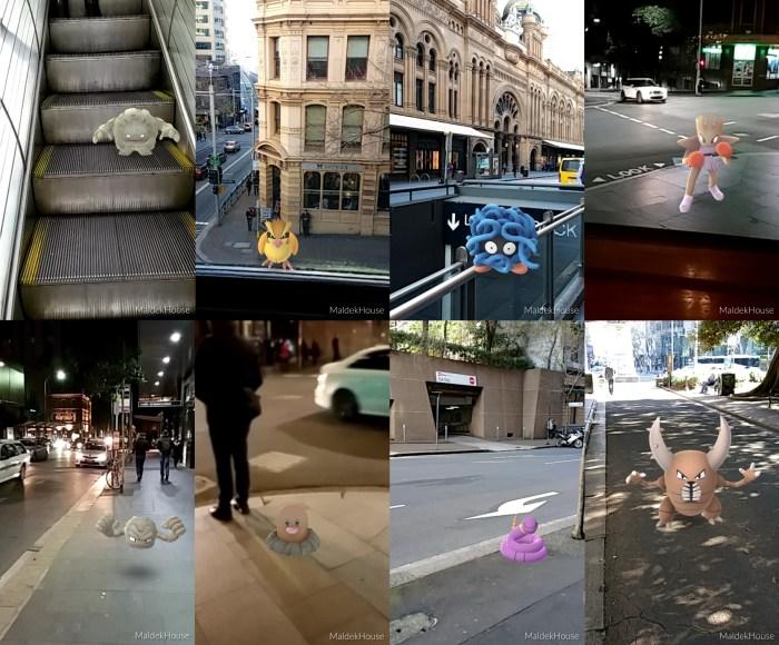 Pokémon Go Street Pictures