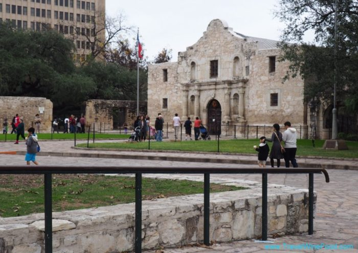 The Alamo and surrounds San Antonio Texas