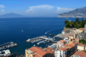 Amalfi Coast Sorrento Town Italy Europe