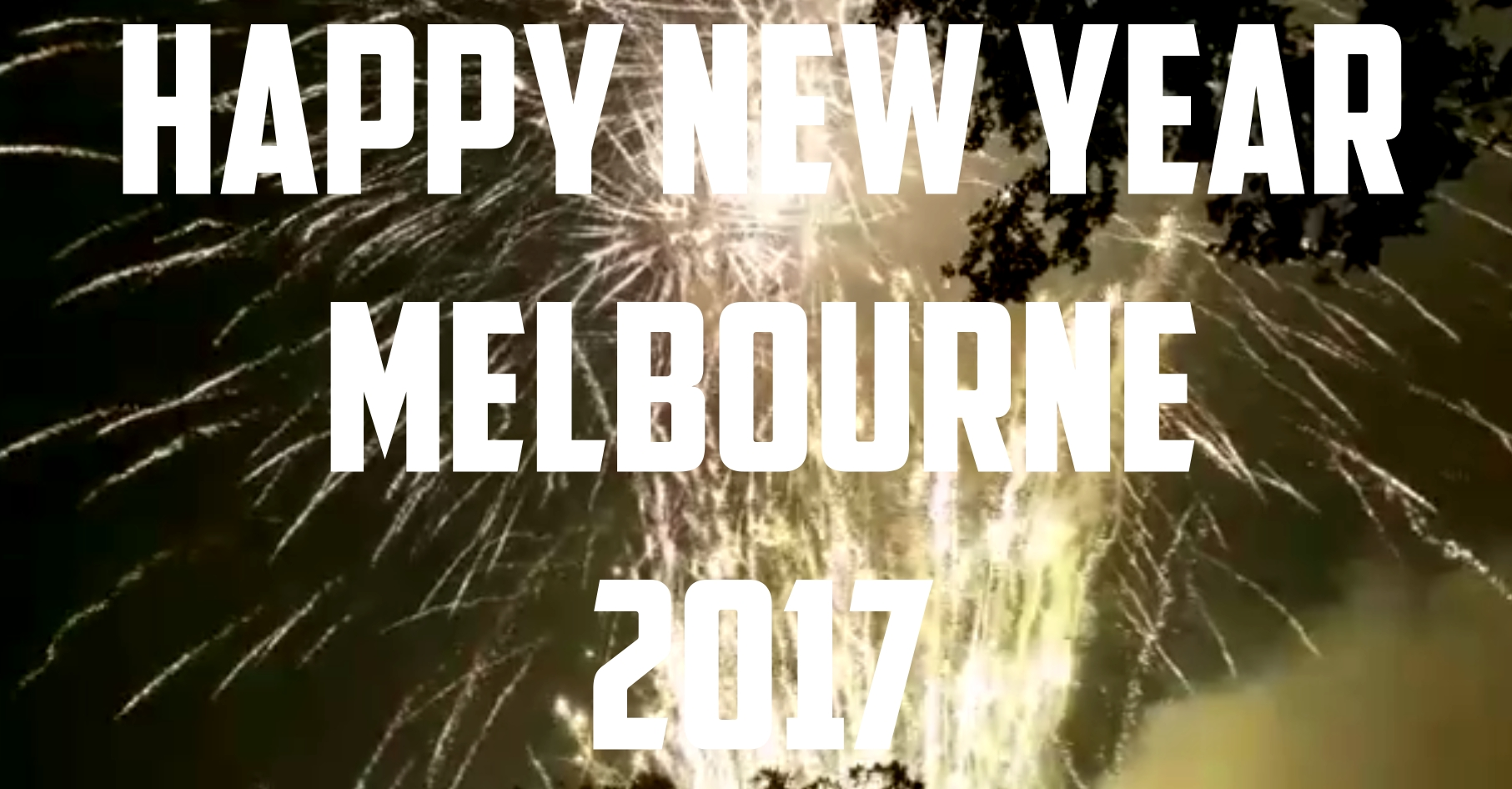 melbourne fireworks 2017 from flagstaff gardens melbourne victoria australia video happy new year 2017 travel wine food