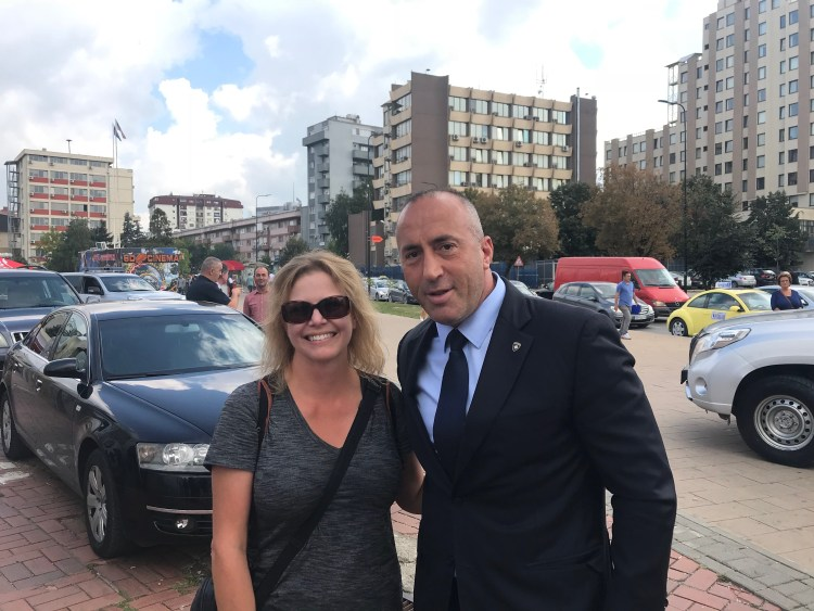 Meeting the Prime Minister of Kosovo