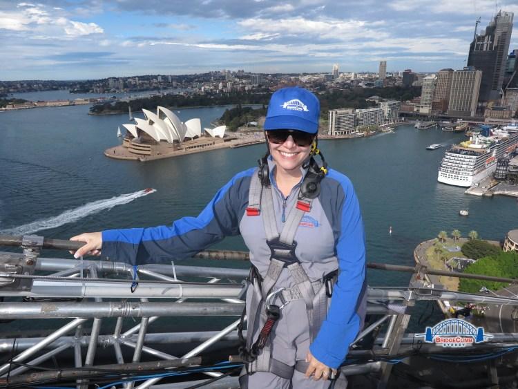 Top of the Sydney Harbour Bridge
