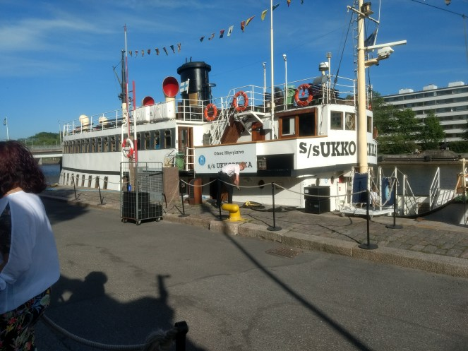 s/s Ukkopekka, the Steamship..