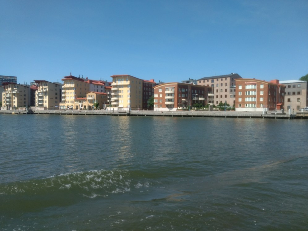 One of the Gothenburg islands..on our Archipelago boat ride..