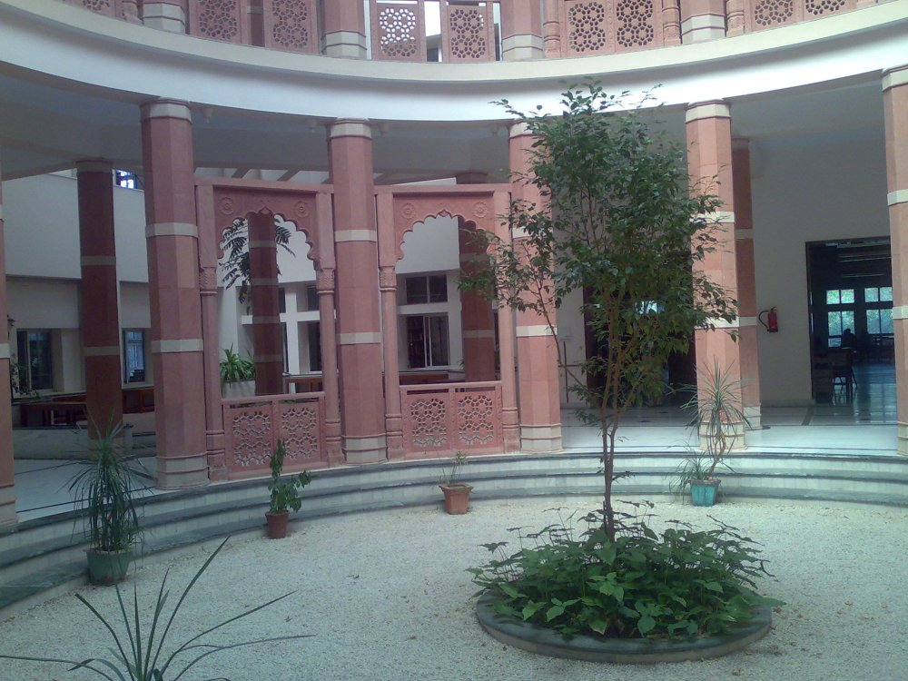 The new library complex, BITS, Pilani, India