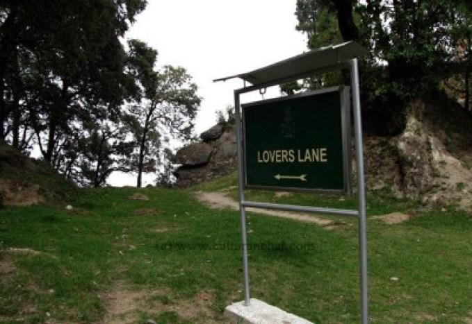 Lovers Lane, Lansdowne, Uttarakhand, India
