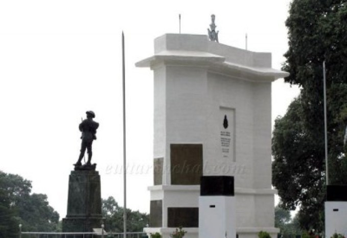 War Memorial, Lansdowne, Uttarakhand, India