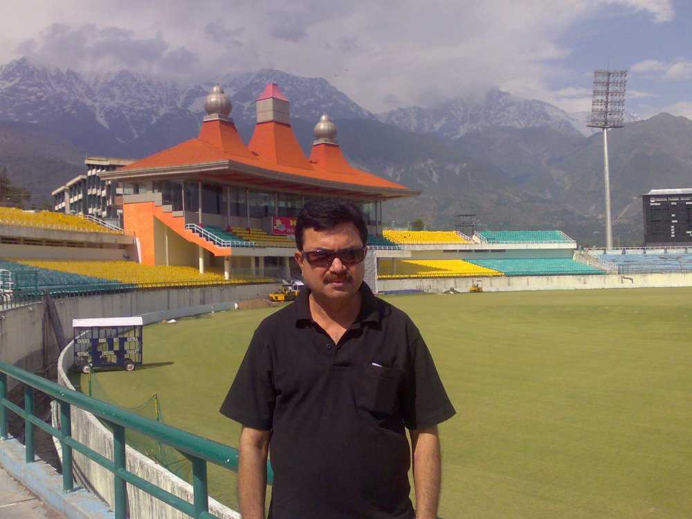 HPCA Cricket Stadium, Dharamshala, Himachal, India