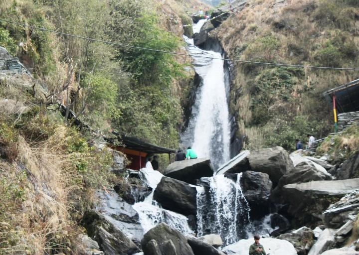 Bhagsu waterfalls, Mcleod Ganj, Himachal, India
