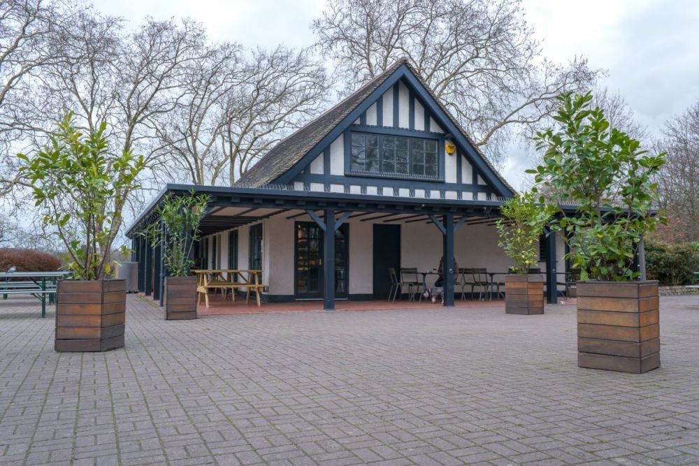 Broad Walk Cafe, Regent's Park, London