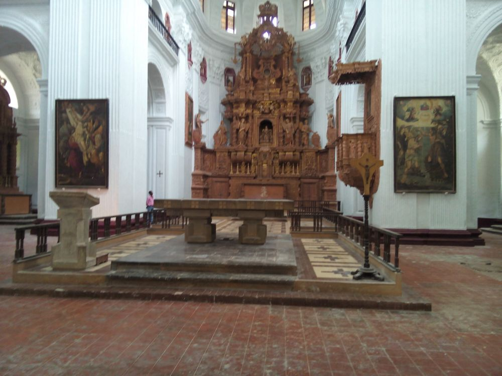 St. Cajetan Church, Goa, India