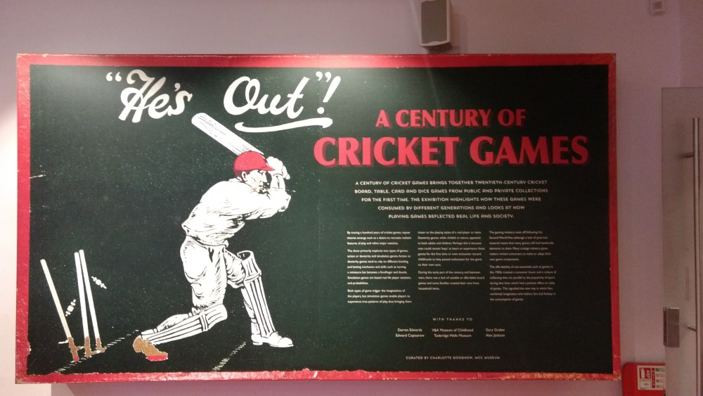 Lord's Cricket Ground Museum, London