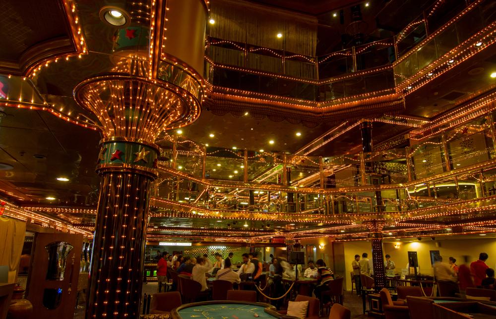 Casino Pride in Goa, India. Goa is famous for it's casinos