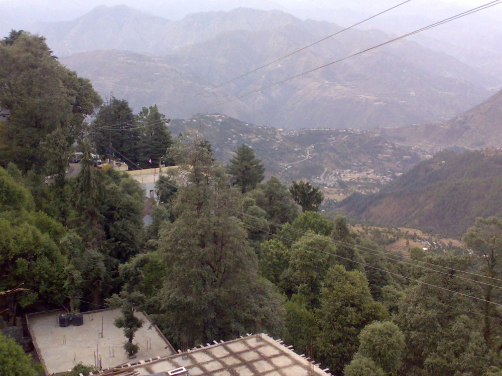 Chamba near Dalhousie, a hill station in Himachal Pradesh, India