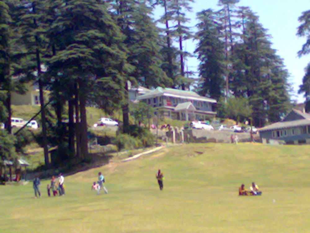 Khajjiar near Dalhousie, a hill station in Himachal Pradesh, India