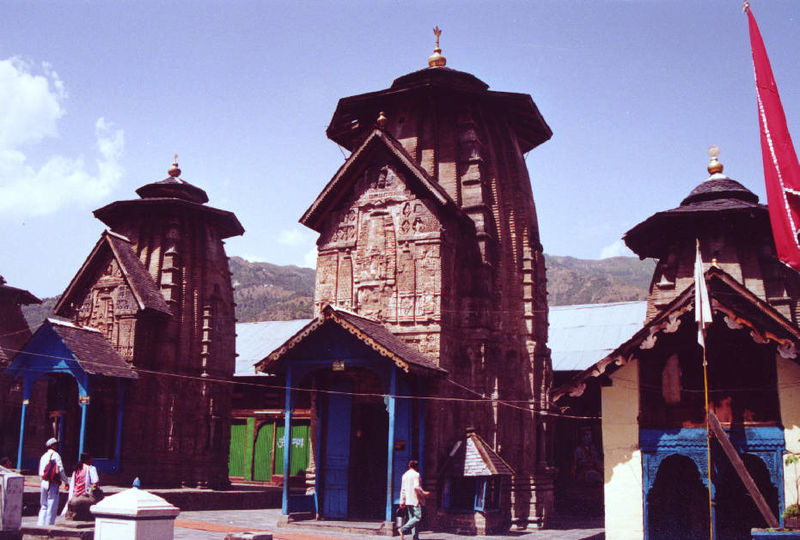 Laxminarayan Temple in Chamba near Dalhousie, a hill station in Himachal Pradesh, India